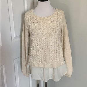 MOTH cream sweater - M - VGUC - Anthropologie
